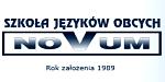 NOVUM Szkoła Języków Obcych logo