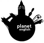 Planet English logo